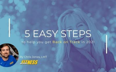 5 Easy Steps –  Back on Track in 2021